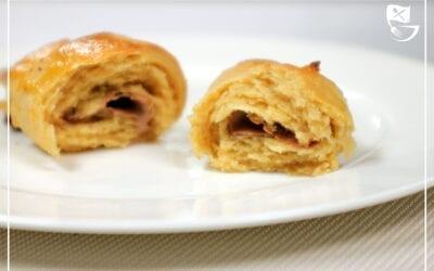 Low Carb Schoko-Croissants