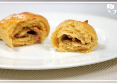 Low Carb Schoko-Croissants