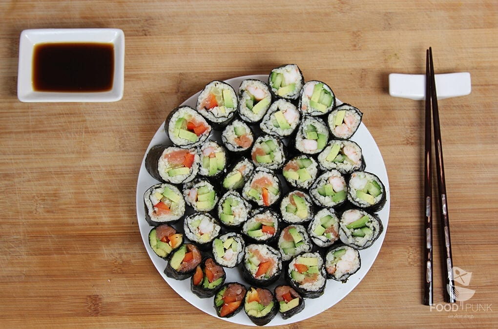 Foodpunk Low Carb Sushi ohne Reis