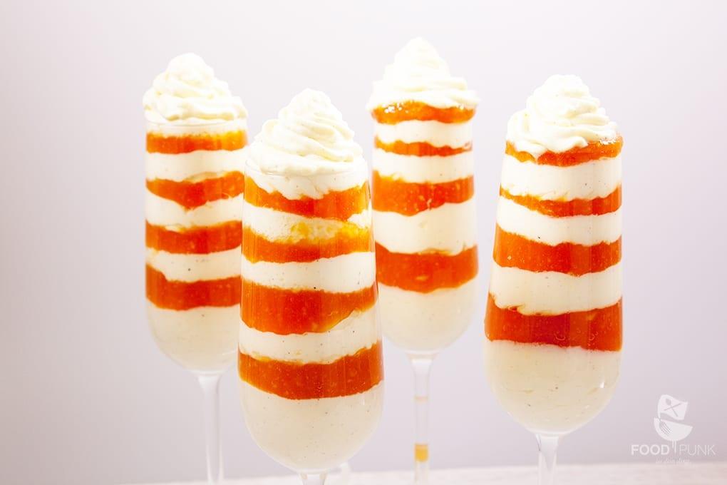 Mascarpone Papaya Schichtdessert - FOODPUNK