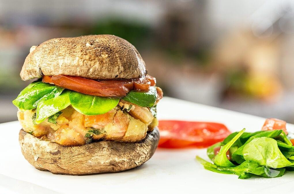 Low Carb Foodpunk Lachs-Burger