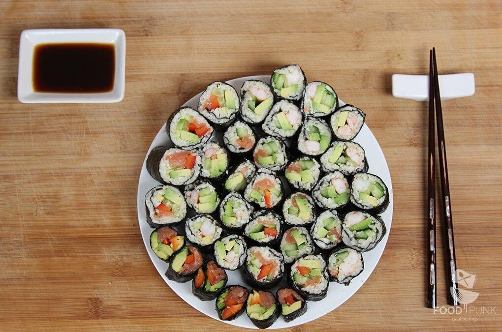 foodpunk low carb sushi ohne reis foodpunk. Black Bedroom Furniture Sets. Home Design Ideas