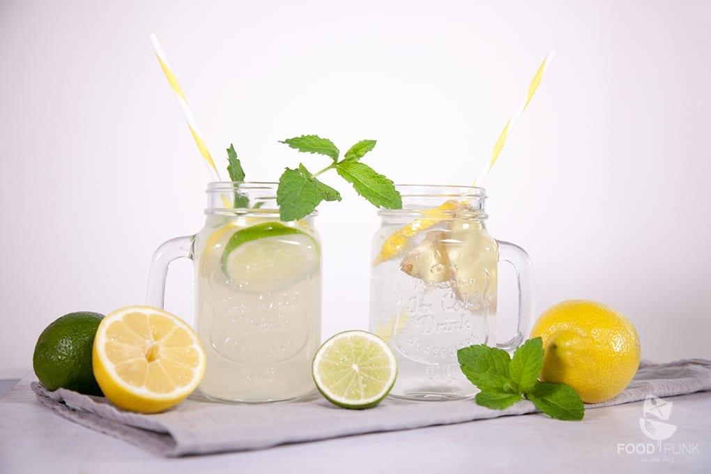 Erfrischende Low Carb Limonade