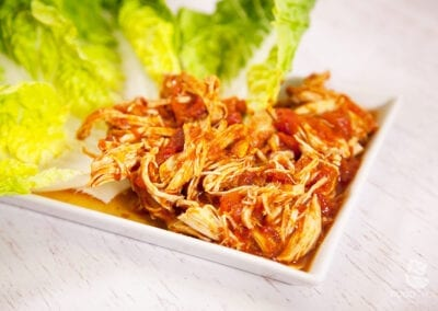Paleo Shredded Chicken aus dem Slow Cooker