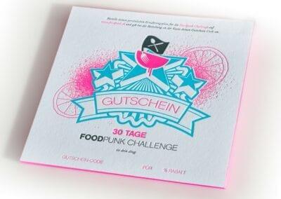 Geschenk-Gutschein – 30% auf die Foodpunk Challenge