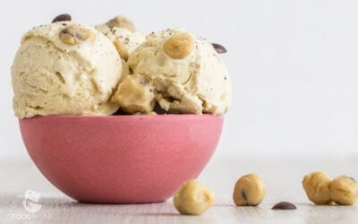 Low Carb Cookie Dough Eis