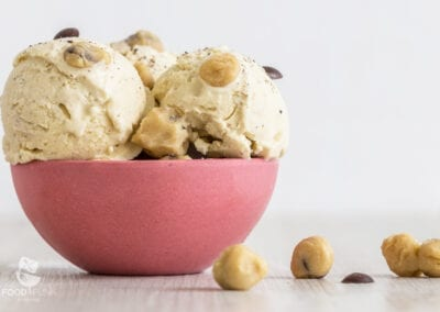 Low Carb Cookie Dough Eis