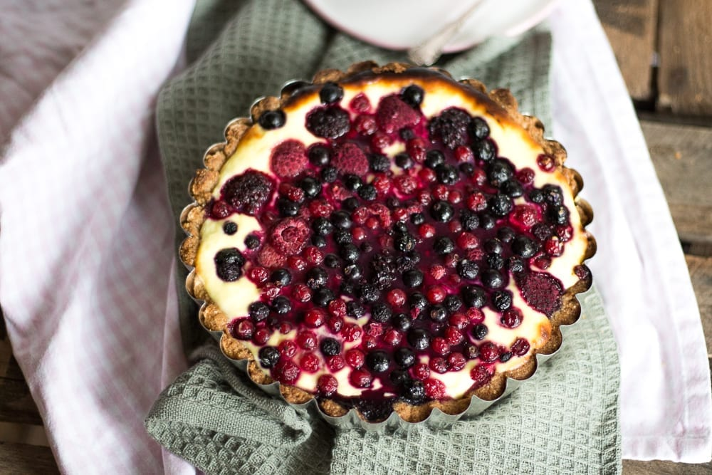 Low Carb Beerentarte