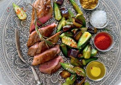 Lamm & Gemüse aus dem Ofen