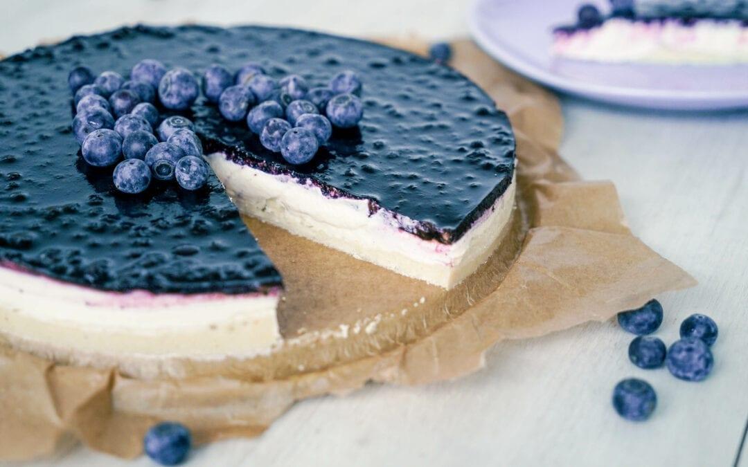 No Bake Paleo Cheesecake ohne Milchprodukte