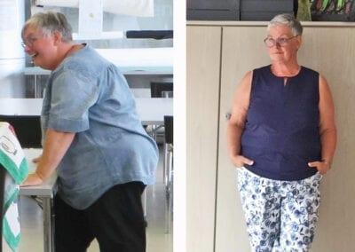 Jutta lässt 30 kg hinter sich