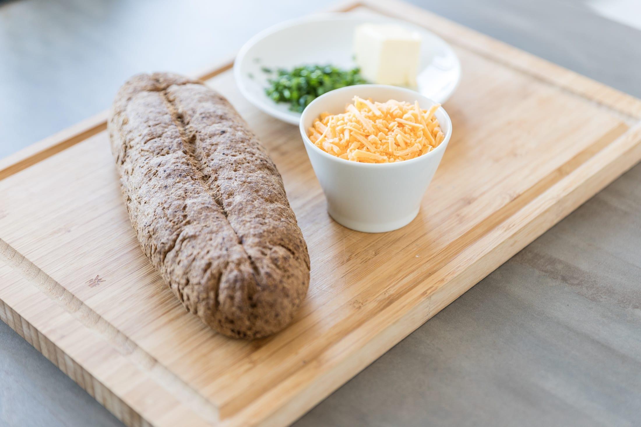 Low Carb Brot Bread Fit und Zutaten