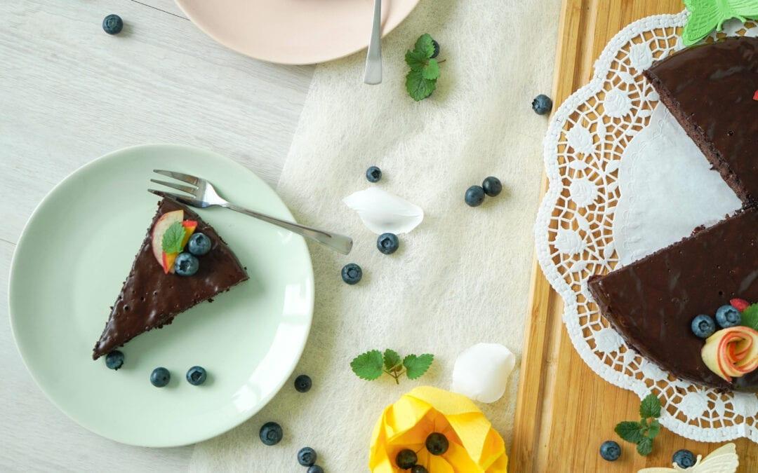 Lecker-schokoladiger Zucchinikuchen