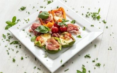 Keto Paprika-Pizza-Schiffchen