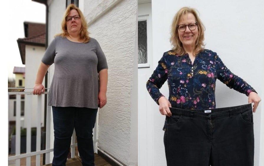 Corinna halbierte ihr Gewicht – mit 50 und trotz Multipler Sklerose