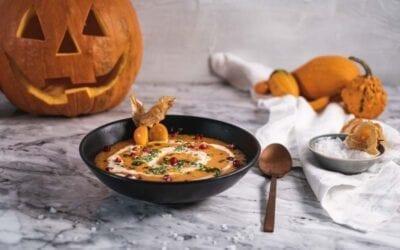 Kürbissuppe Halloween-Special