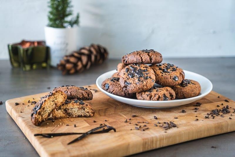 Triple Choc Christmas Cookie (Low Carb)