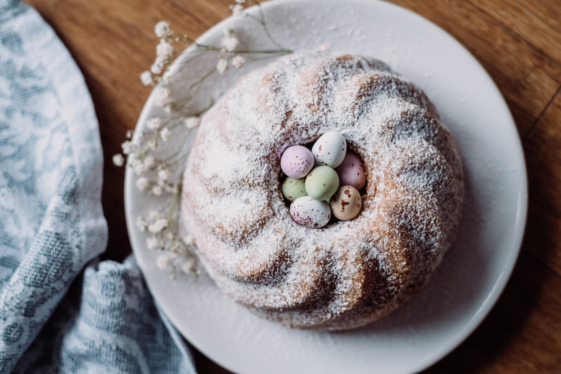 Marmorkuchen Ostern