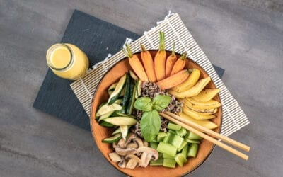 Fruchtig scharfe Low Carb Bowl – Hashimoto Special