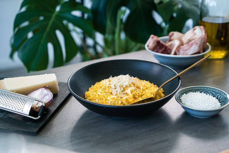 Low Carb Risotto alla Milanese