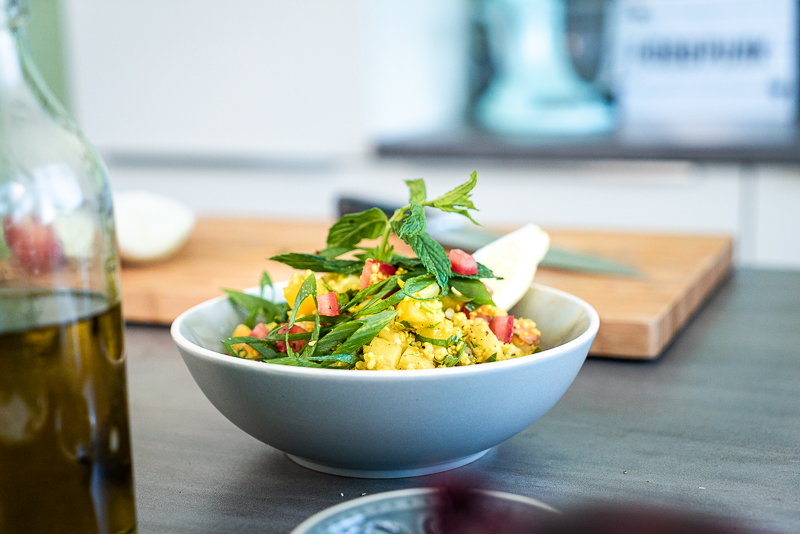 Low Carb Tabouleh mit Quinoa (glutenfrei)